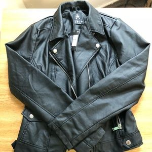 182bf3cbc88d99 Atmosphere Jackets   Coats - Primark faux leather jacket NWT
